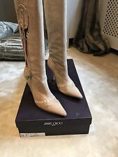 Jimmy Choo Camel Suede Boots Offers