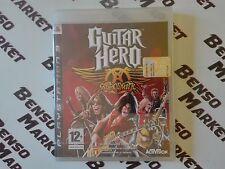 GUITAR HERO AEROSMITH - SONY PS3 PLAYSTATION 3 PAL ITA ITALIANO NUOVO SIGILLATO