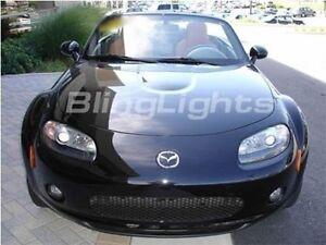 Xenon Fog Lamps Driving Lights foglights for 2006 2007 2008 Mazda MX5 Miata