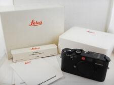 Leica M6 35mm RARE DEMO Unit Polyphoto Camera Black + BOX Original Excellent