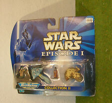 Star Wars episodio I Micro Machines Colección II jefe Nass Gungan Nute Gunray