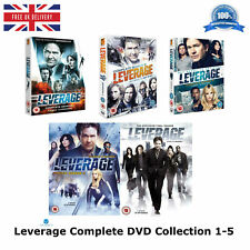LEVERAGE - Series 1-5 Complete Collection Season - 1 2 3 4 5 New UK Region 2 DVD