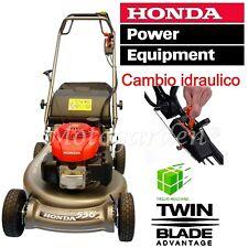 Rasaerba Honda HRD536 C3 HXEA taglio Mulching + Raccolta + GCV160 + Hydrostatic