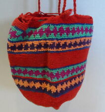 Brick Red/Purple/Turquoise/Blue Small HANDMADE Delicate Handbag Bag Purse