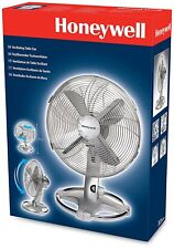 "Honeywell Home & Office chrome oscillant table de bureau Air Ventilateur De Refroidissement - 12"" pouces"