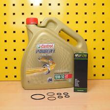 KTM 1290 SuperDuke Ölwechselset Öl Ölfilter Dichtung Castrol Power1 Racing 10W50