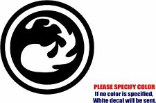 Vinyl Decal Sticker - MTG Mana Symbols #02 Car Truck Bumper Window JDM Fun 6""