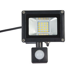 20W PIR Motion Sensor SMD LED Floodlight Security Lamp Outdoor Spotlight IP65