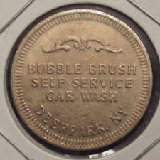 Vintage Bubble Brush Car Wash Deer Park, NY Token - New York