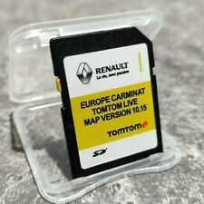 LATEST 10.15 RENAULT TomTom CARMINAT LIVE SD CARD EUROPE & UK MAP 2019 - 2020