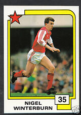 PANINI CALCIO CARD - 1988 SUPERSTARS CALCIO-N. 35-Nigel winterburn