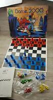 Vintage Dame 2000 board game Rare