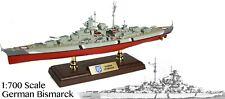 FOV-861006A German Battleship Bismarck 1:700 Diecast Military Model