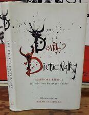 2003 DEVIL'S DICTIONARY Ambrose Bierce Hardcover Book DJ First US Ralph Steadman