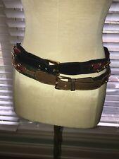 2 Authentic Gucci Belts