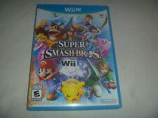 Super Smash Bros For (2014) Nintendo Wii U Wiiu Game Complete Good Condition