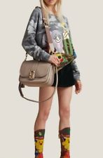 Marc Jacobs Interlock Courier Leather Crossbody Bag In Taupe $595