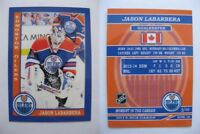 2015 SCA Jason Labarbera Edmonton Oilers goalie never issued produced #d/10