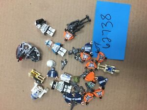 Lego, Star Wars, Various Parts, Heads, Torsos, R2, Medical, Minifigs Lot 62738