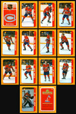 Renaissance 1982-83 Guy Lafleur Montreal Canadiens Team Set 14 Souhaits Mini