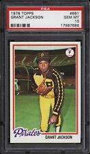 1978 Topps #661 Grant Jackson - Pirates - PSA 10 - 17987686