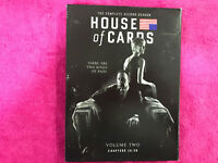 HOUSE OF CARDS THE COMPLETE SECOND SEASON VOLUME 2 ESPAÑOL E INGLES  4 DISCS