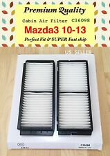CABIN AIR FILTER For Mazda3 2010 2011 2012 2013 Mazdaspeed High Quality C16098