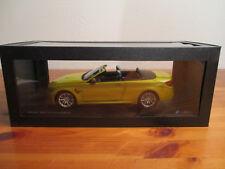 ( Go) 1:18 Paragon BMW M4 Convertible nuevo emb. orig.