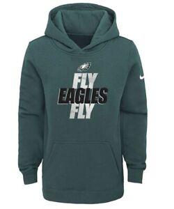 Philadelphia Eagles Nike Youth Boys Fly Eagles Fly Pullover Hoody Sweatshirt