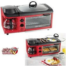 Breakfast Electric Retro Station Cooker Maker Coffee Mini Kitchen Cookware Chef