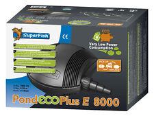 SF Teichpumpe Pond ECO Plus E 8000,41 Watt Filterpumpe Bachlaufpumpe
