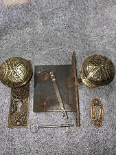 New listing Polished Brandfor Lock Works Design Doorknobs & Backplates