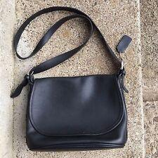 Coach Fletcher Crossbody Black Bag VGC Vintage Leather