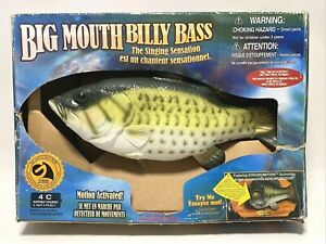 VTG Gemmy Big Mouth Billy Bass Fish Take Me To The River & Don't Worry Be Happy