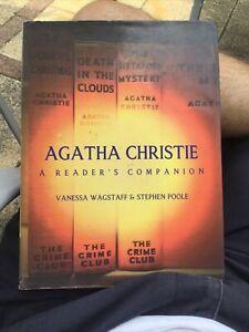 Agatha Christie A Reader's Companion 2004 1st.edition HB Book
