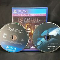 Torment Tides Of Numenera PS4 Video Game Bonus Soundtrack Day One Edition