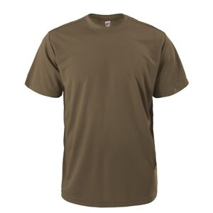 Soffe Military Dri-Release Moisture Wicking Performance Single T-Shirt 995A New