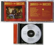 JOHNNY & THE ROCCOS Knee Deep In The Blues .. German 1988 Line CD TOP No Barcode