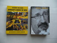 JORDAN  Grand Prix Team. Two books. Formula One book.
