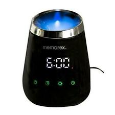 Memorex Aromatherapy Essential Oils Aroma Diffuser Humidifier with Alarm Clock