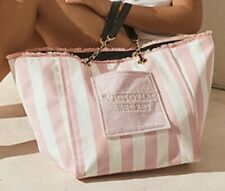 Victoria's Secret Lmt Ed Pretty Large Fringe Tote Bag  W/ Front Pocket NWT