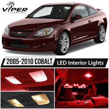 2005-2010 Chevy Cobalt Red LED Interior Lights Package Kit