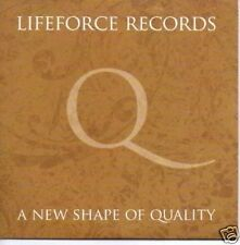 (918V) Lifeforce Records A New Shape of Quality - DJ CD