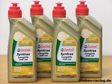 12,85€/l Castrol Syntrax Longlife 75W-140 4 x 1 L
