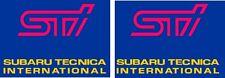 Subaru Impreza Bug Eye WRX STI Restoration Fog Lamp Cover decals sticker graphic