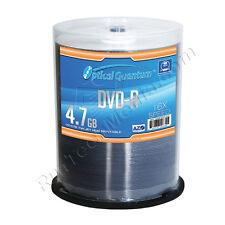 600 Optical Quantum Premium AZO 16x 4.7GB DVD-R White Inkjet HUB Printable