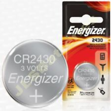 ENERGIZER 2430 Lithium Battery 3v  CR2430 DL2430 5011LC