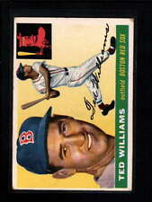 1955 TOPPS #2 TED WILLIAMS VG-EX D313