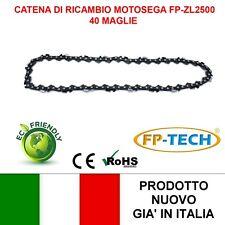 CATENA DI RICAMBIO MOTOSEGA A SCOPPIO 25 CC FP-ZL2500 SPESSORE 1.3 CM 40 MAGLIE