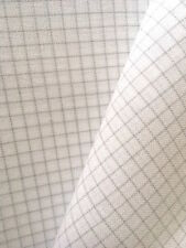 Zweigart White Easy Count 28 count Brittney evenweave 50 x 70 cm with grid lines